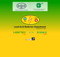 lead-acid batteries department in bulgarian academy of sciences (bas)
