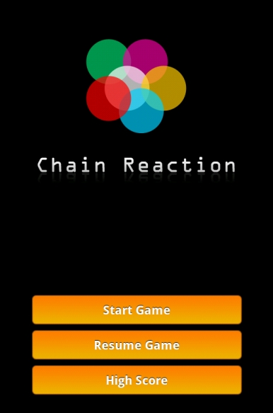 android игра - chain reaction